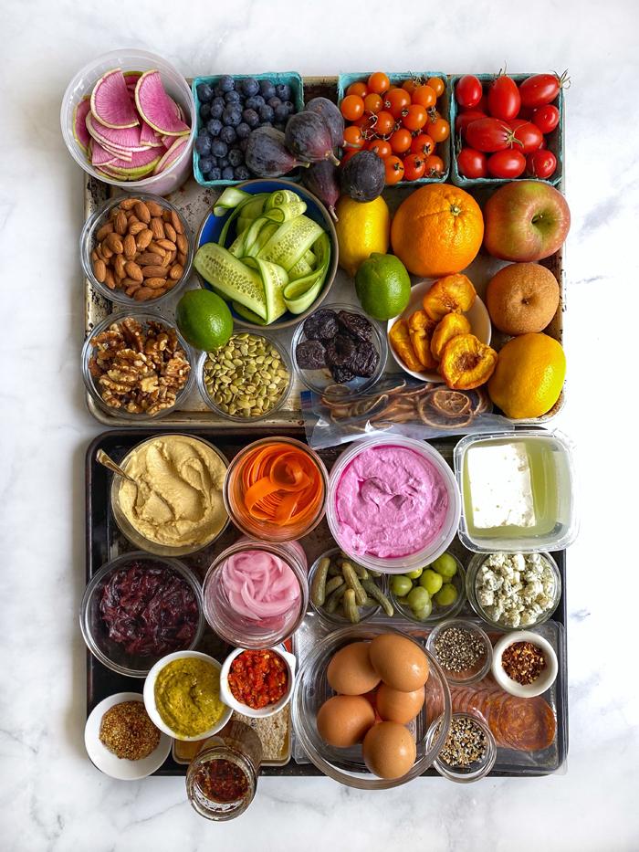 ingredients for Avocado Board Avocuterie