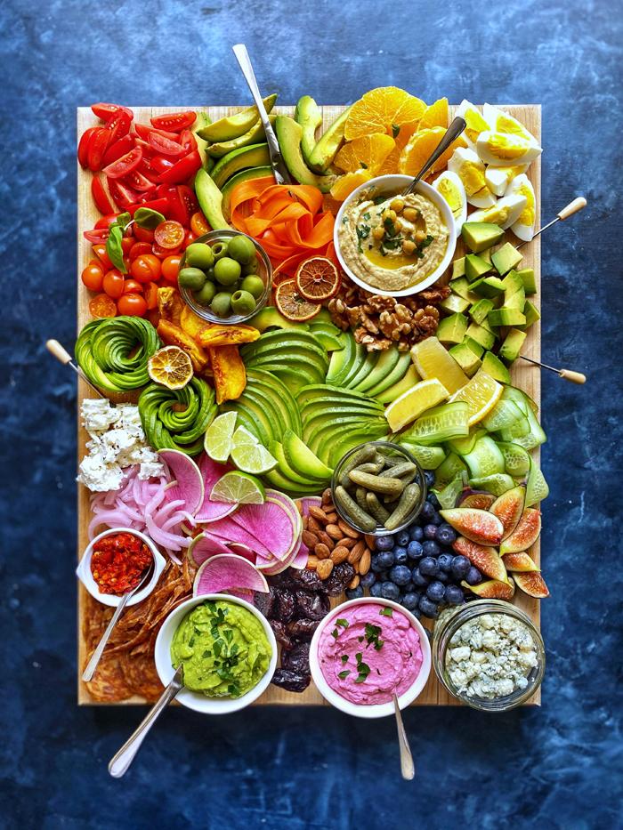 avocado board blue